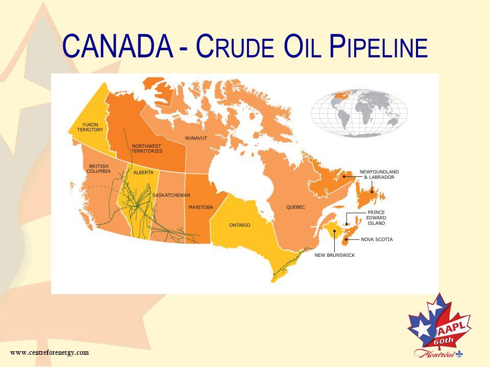 CANADA – N ATURAL G AS www.centreforenergy.com