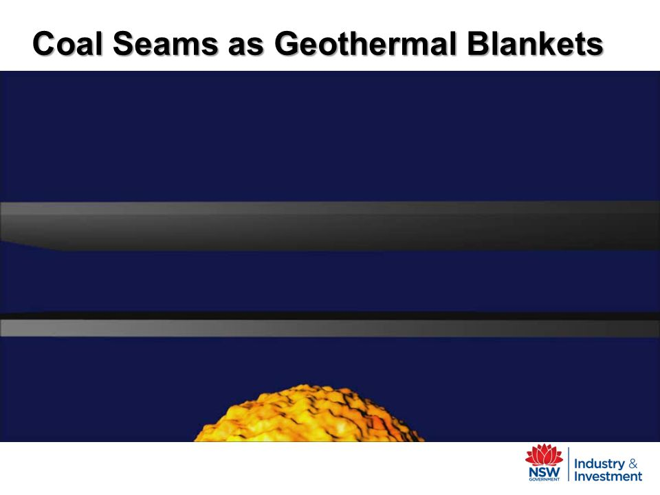 Coal Seams as Geothermal Blankets