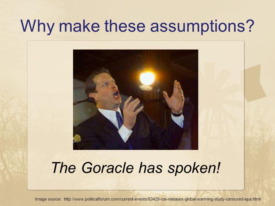The Goracle has spoken.