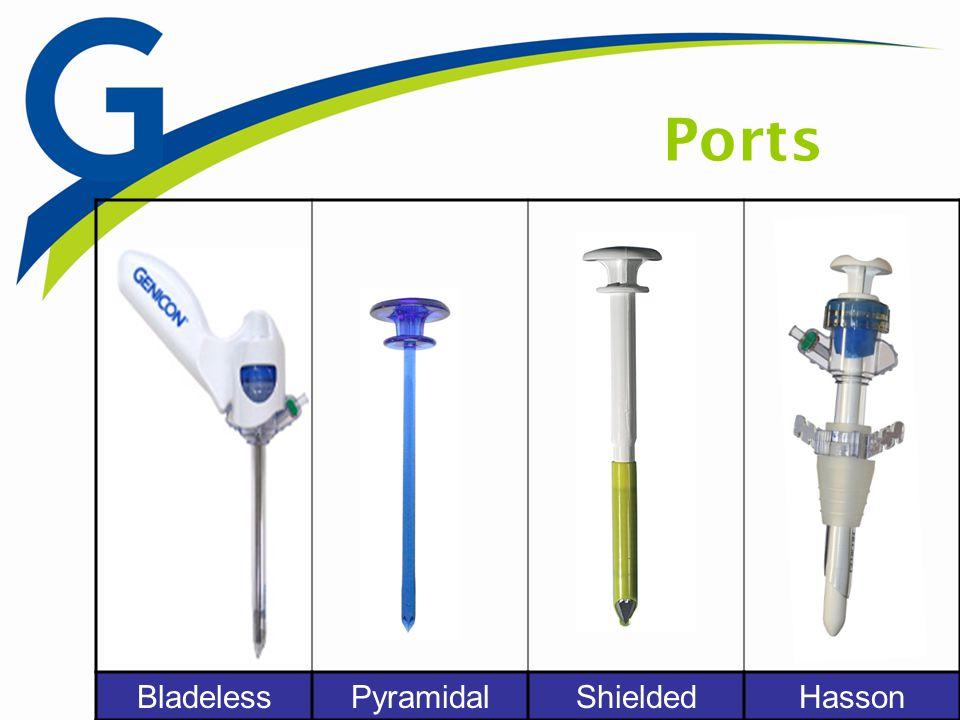BladelessPyramidalShieldedHasson Ports