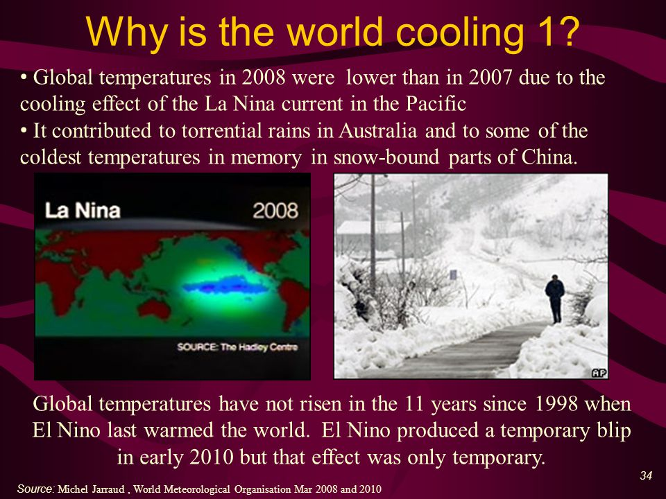 34 Why is the world cooling 1.