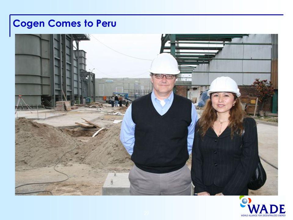 29 Cogen Comes to Peru