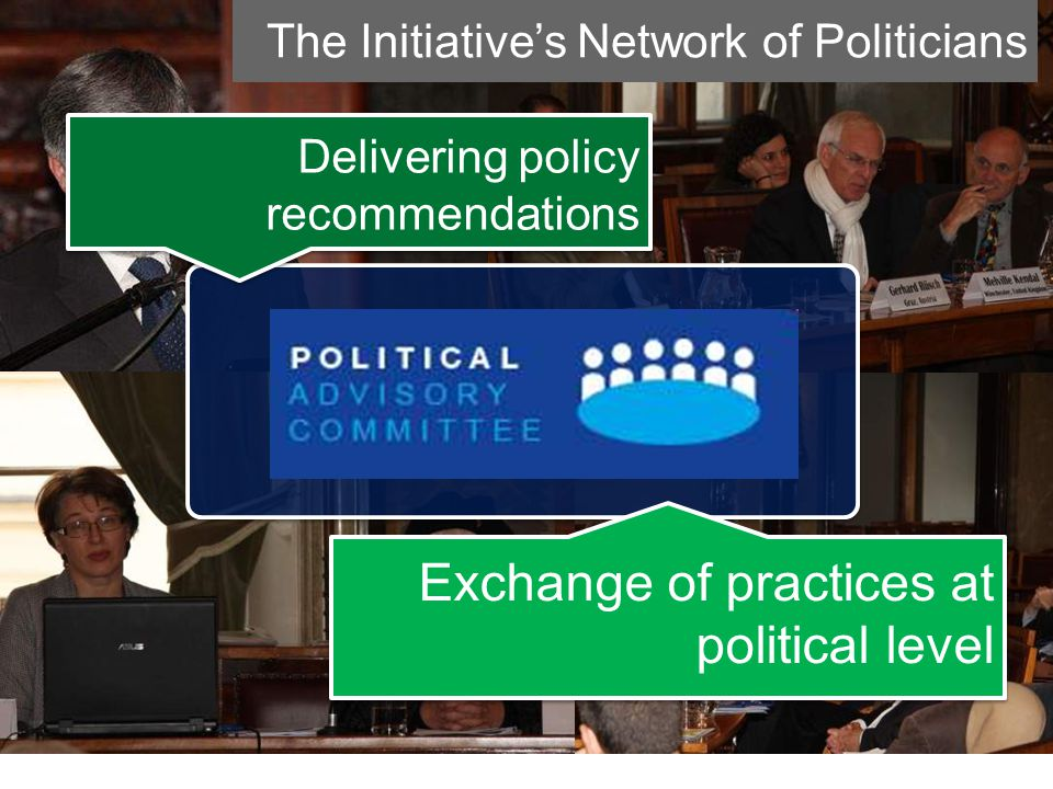 CIVITAS Forum Network cities The Initiative's Network of Politicians Delivering policy recommendations Exchange of practices at political level