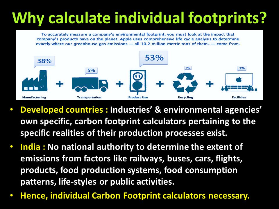 Carbon Footprint Air travel Airplanes use enormous quantities of aviation fuel.