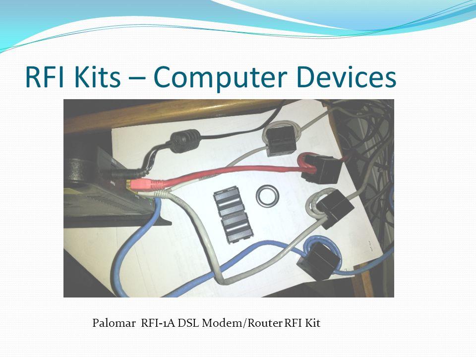 RFI Kits – Computer Devices Palomar RFI-1A DSL Modem/Router RFI Kit