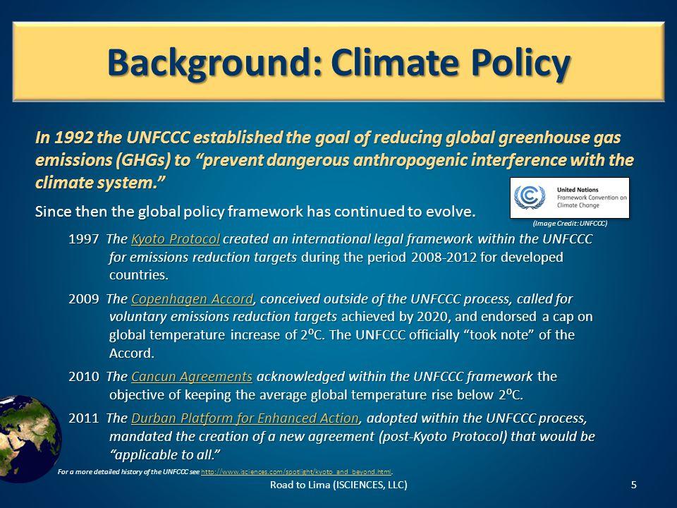 Sources Road to Lima (ISCIENCES, LLC)26 UNFCCC.Oct.