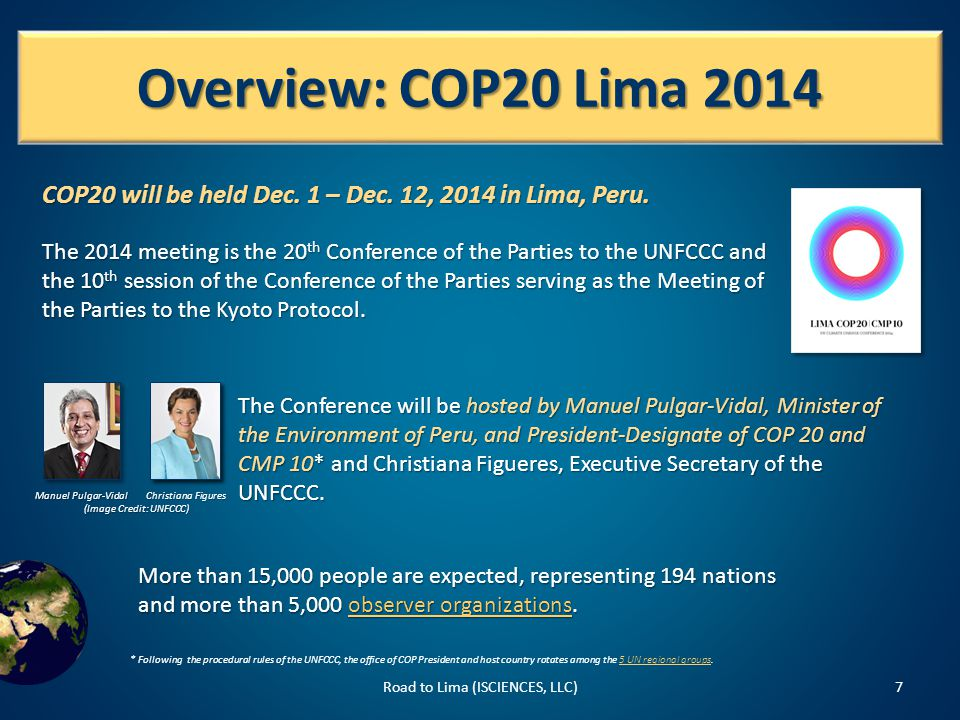 Issues: Pre-2020 Ambition Road to Lima (ISCIENCES, LLC)18 Pre-2020 ambition must increase in order to close the gap between pledged cuts and targets recommended to keep warming to 2  C.