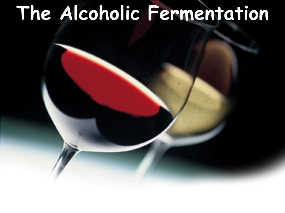 Alcoholic fermentation is the reaction needed to produce wine.