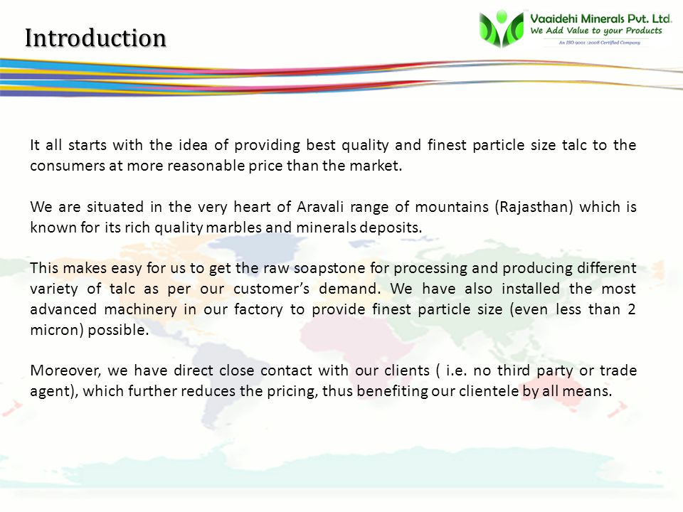vsbb About us Vaaidehi MineralsVaaidehi Mineralsis a part of nearly 10 years old Vaaidehi Group of companies.