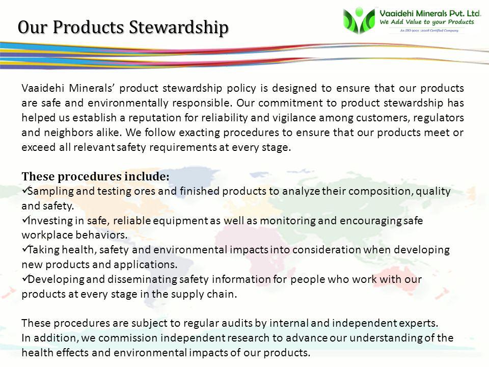vsbb Our Products Portfolio Vaaidehi Minerals Pvt.