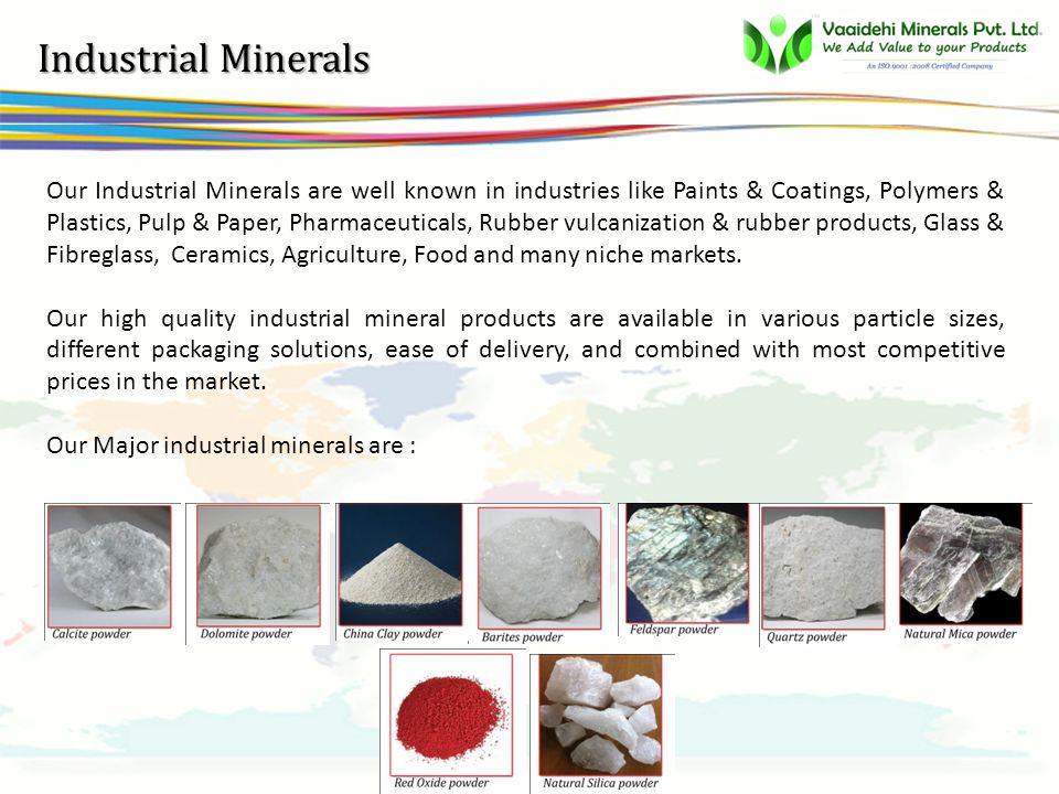 vsbb Why Vaaidehi Minerals ??