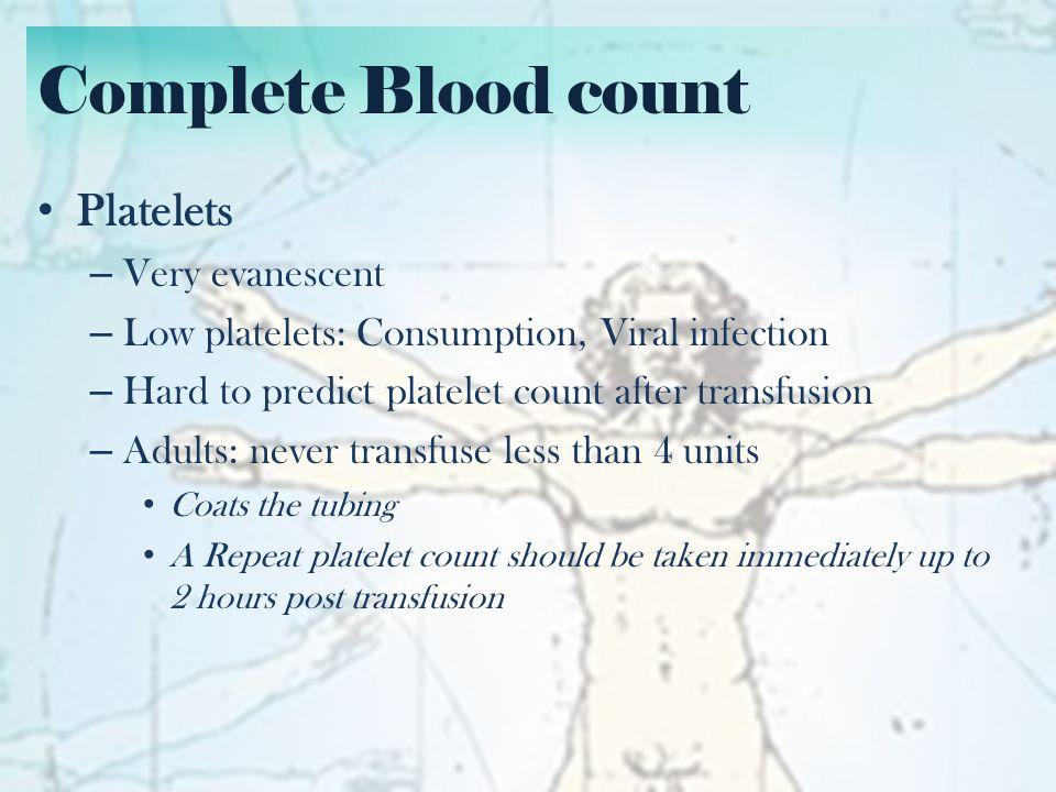 Bleeding Tests