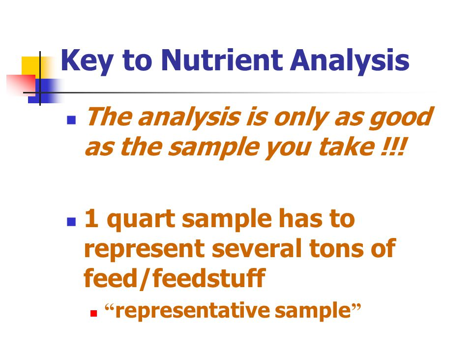 Two type of marker use in nutrition studies Internal marker Internal marker component of feedstuffs component of feedstuffs e.g.