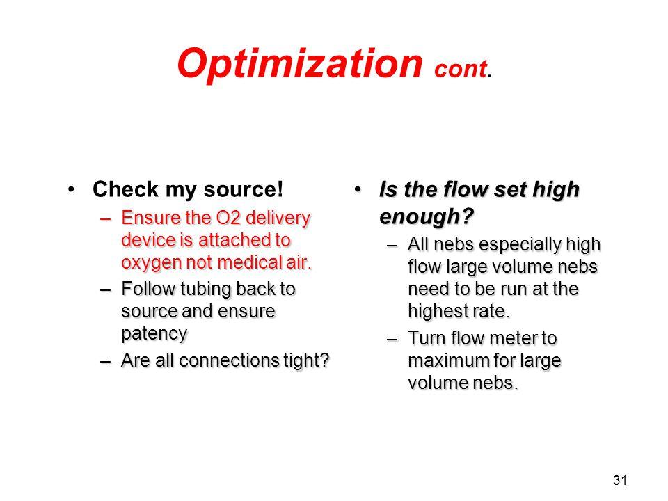31 Optimization cont.Check my source.