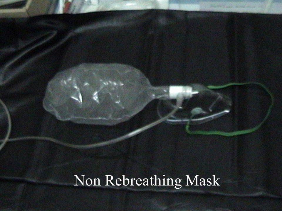 Non Rebreathing mask Non Rebreathing Mask