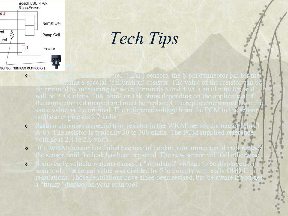 Tech Tips  TECH TIPS  Honda 5-wire