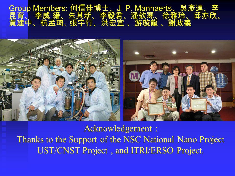 Group Members: 何信佳博士、 J. P.