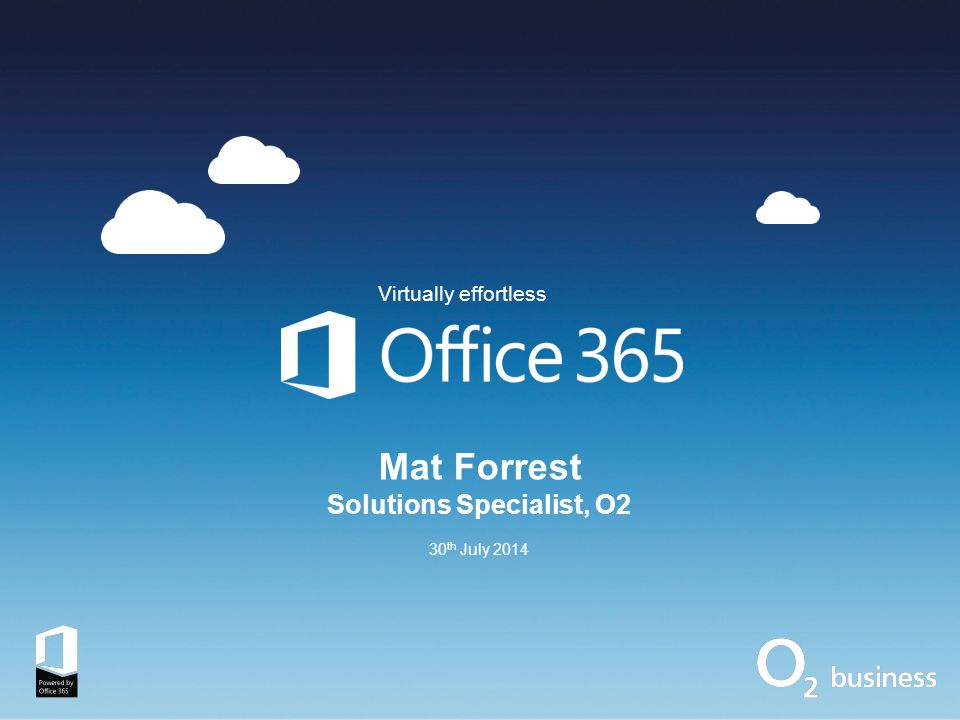 Contents Trends impacting the way we work The modern office The benefits of Microsoft Office 365 What's included.