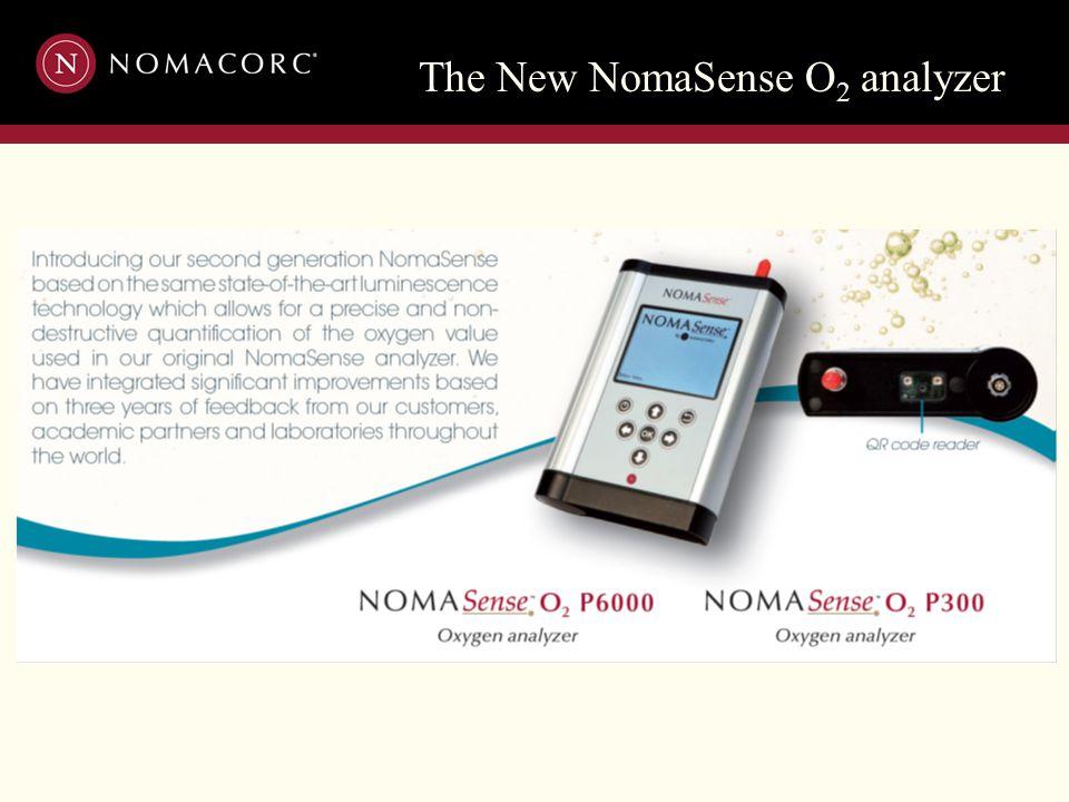 The New NomaSense O 2 analyzer