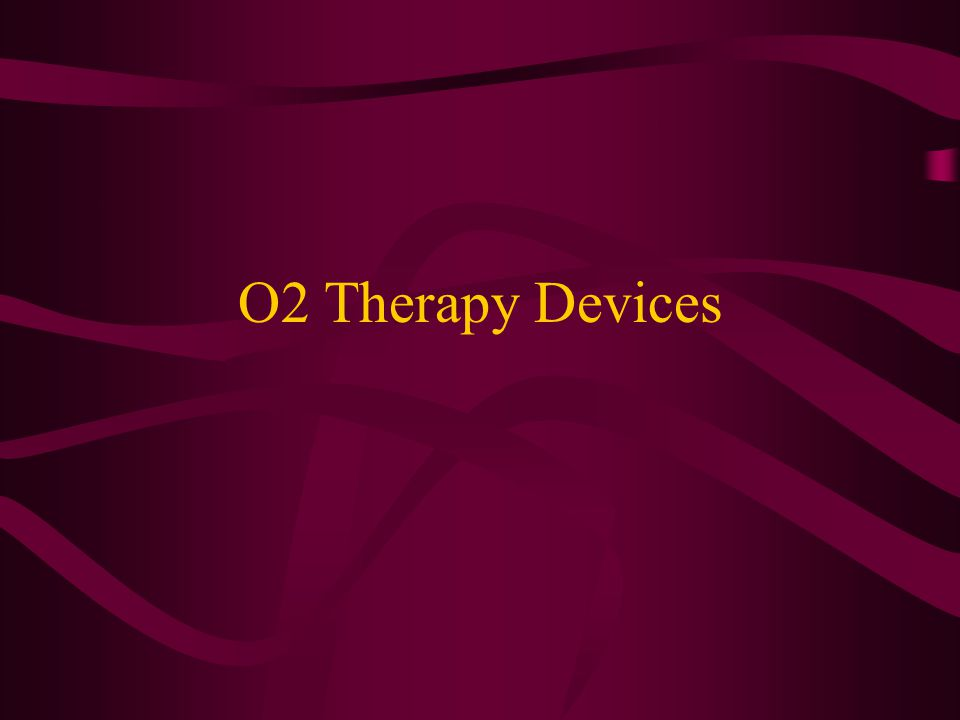 Management of O2 Therapy Keep PaO2 between 50-70.