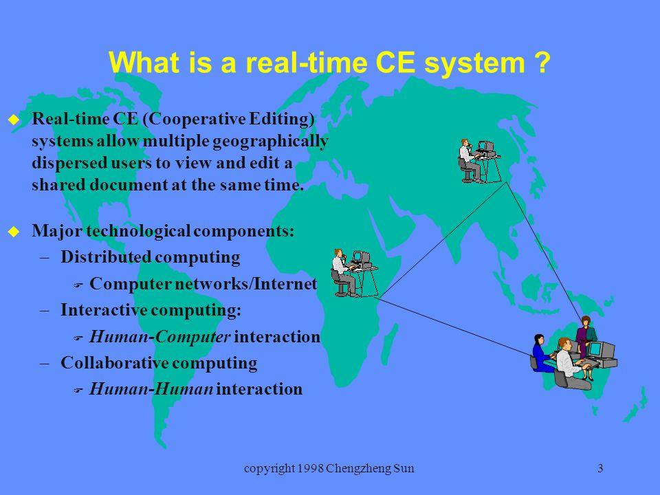 copyright 1998 Chengzheng Sun14 The adOPTed approach Ressel et al (U.