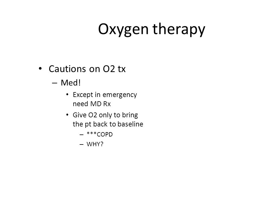 Method of O2 Administration Non-rebreather Mask Flow rate – 6-10 L/min FiO2 – 70-100%