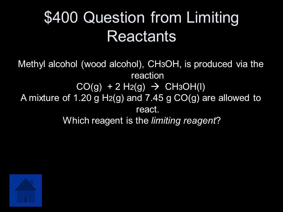 $300 Answer from Limiting Reactants 748.6g FeO