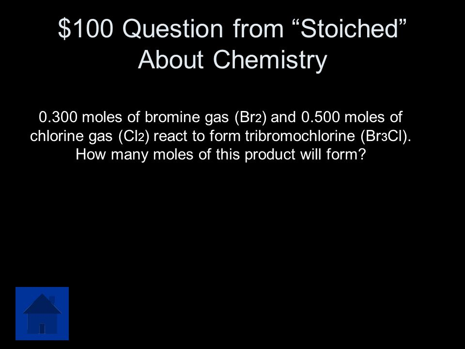 $500 Answer from Limiting Reactants O 2 yields 8.0 mol CO 2 C 2 H 2 yields 40.0 mol CO 2 O 2 is the limiting reactant