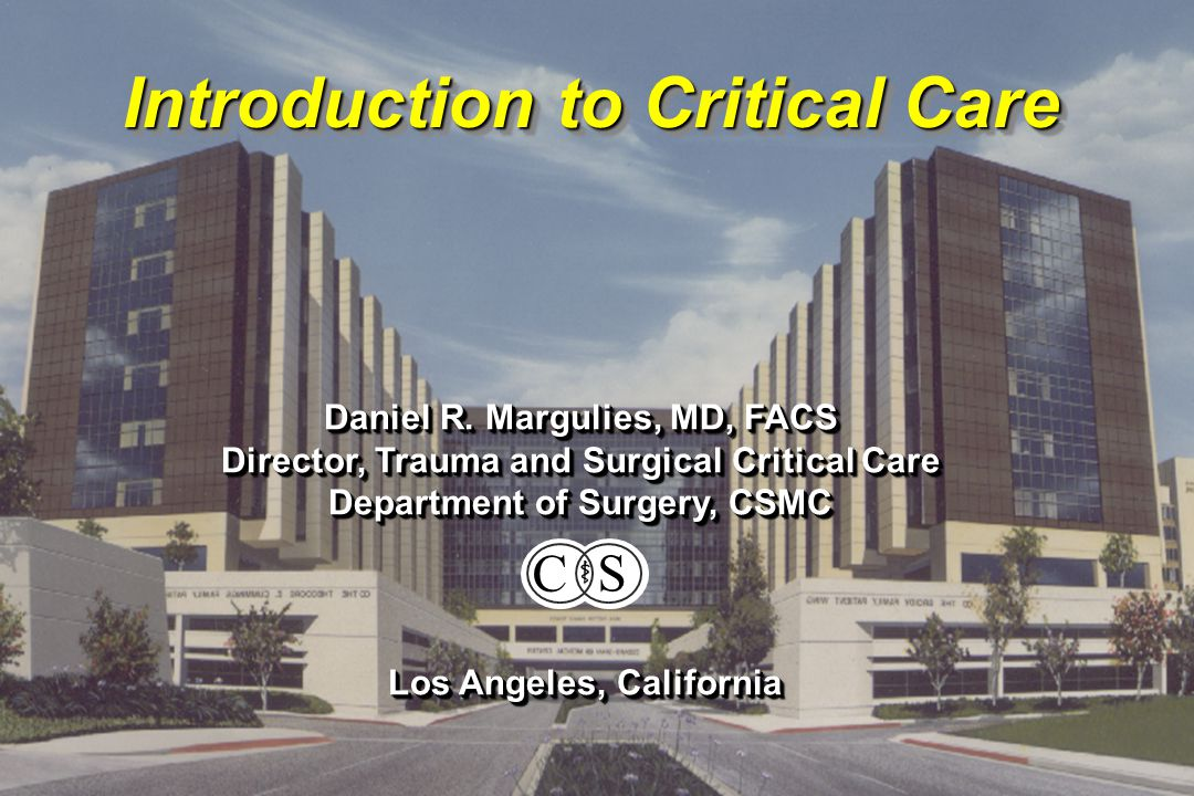 Introduction to Critical Care Starling Curves