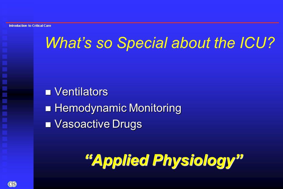 Introduction to Critical Care Partial Liquid Ventilation Leach et al. Crit Care Med 1993;21:1270.