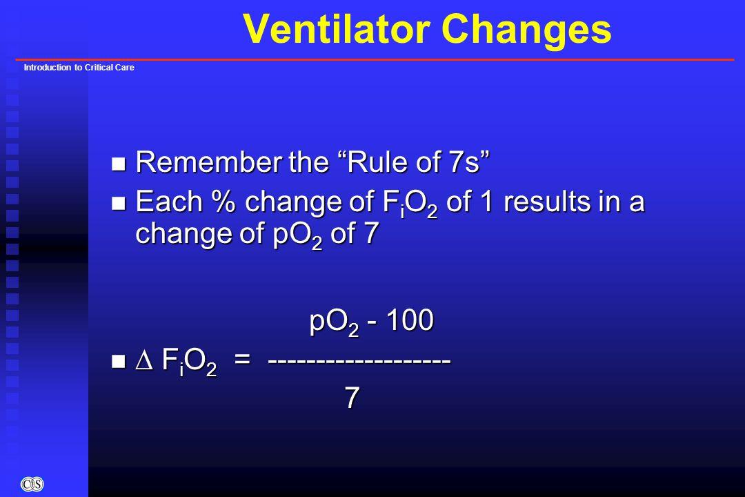 Introduction to Critical Care Intensive Care Medicine n Ventilators u ARDS n Hemodynamic Monitoring n Vasoactive Drugs