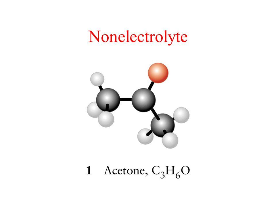 Nonelectrolyte