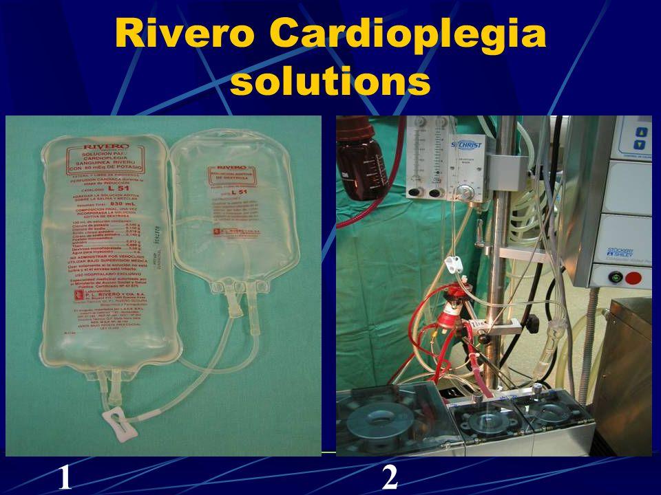 Rivero Cardioplegia solutions 12
