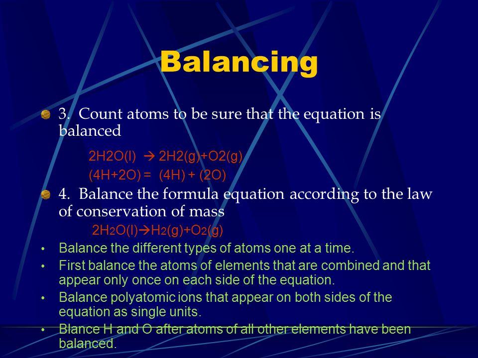 Balancing 3.