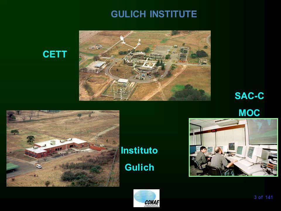 3 of 141 GULICH INSTITUTE CETT SAC-C MOC Instituto Gulich