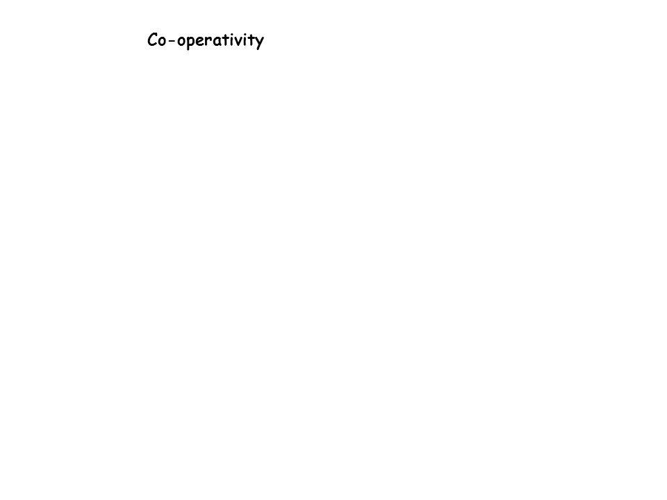Co-operativity