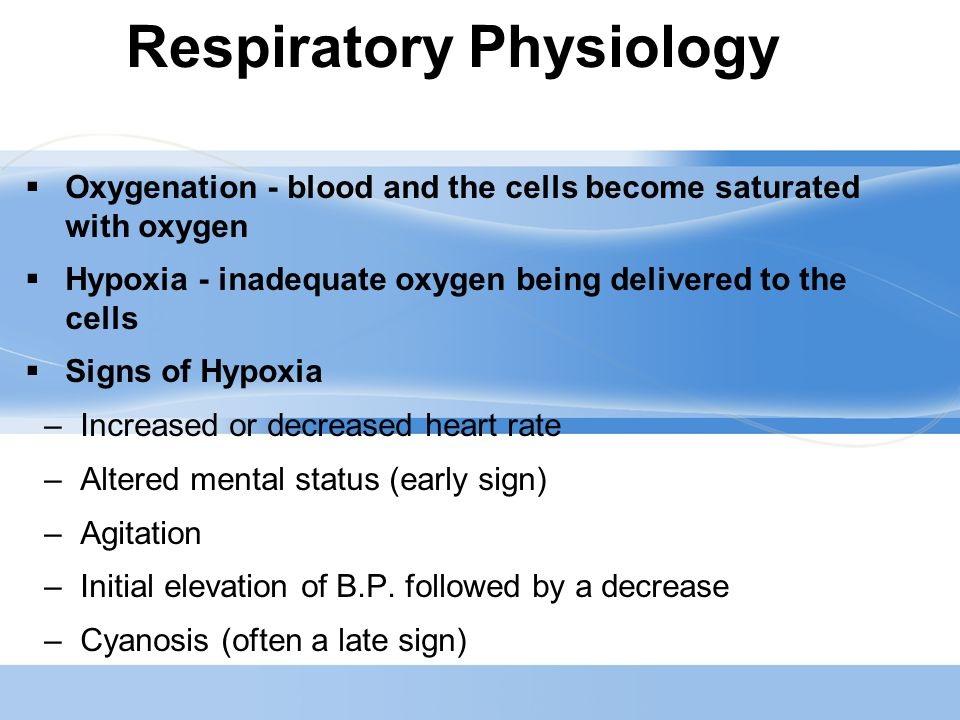 Page  17 Oxygen Therapy  Should be prescribed  Acute and chronic respiratory conditions  Personnel should be trained in its use  Protocols