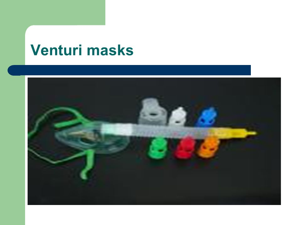 Venturi masks