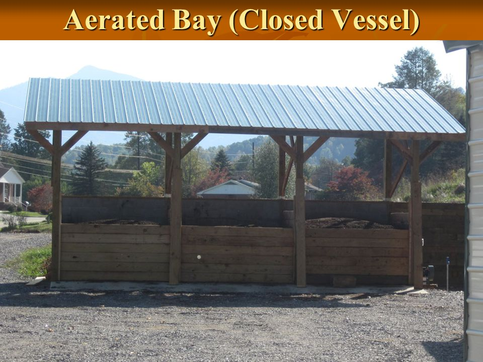 Aerated Bay (Closed Vessel)