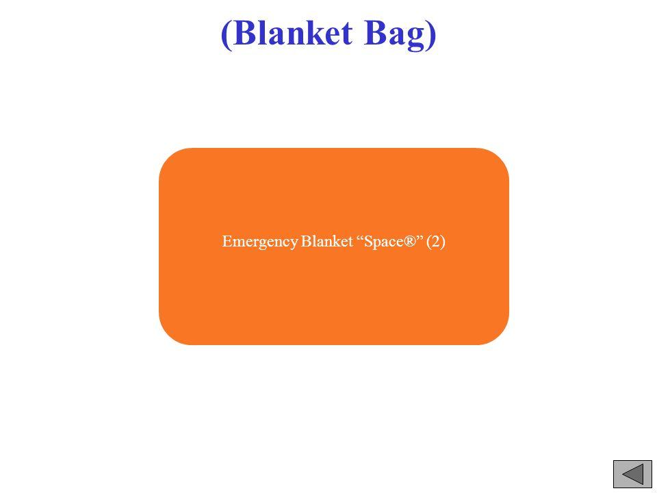 (Blanket Bag) Emergency Blanket Space® (2)