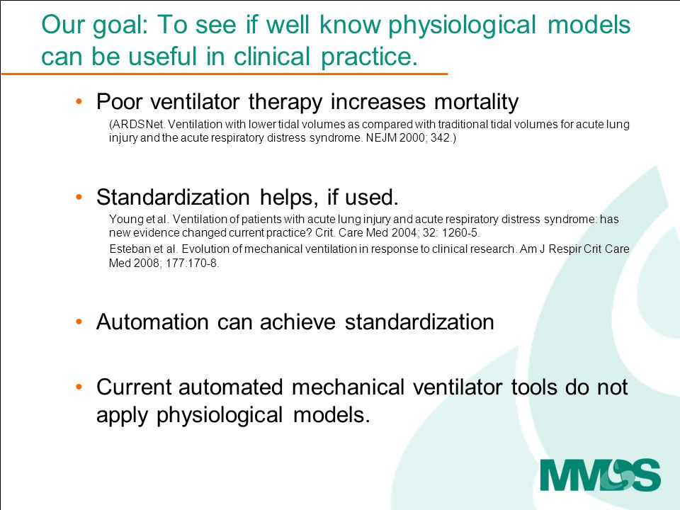 INVENT approach – physiological models