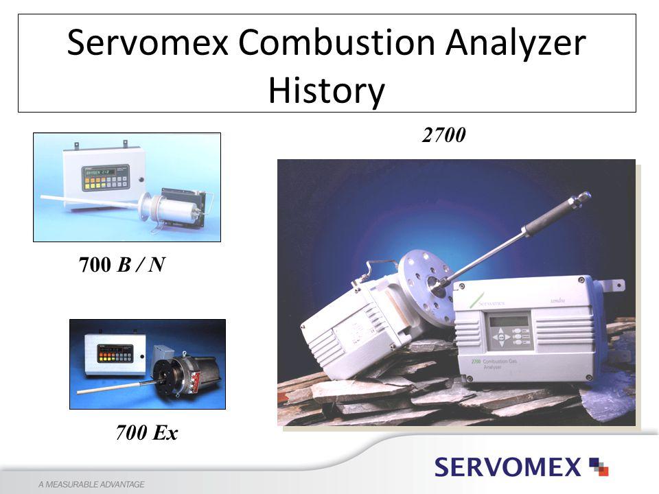 Servomex Combustion Analyzer History 700 B / N 700 Ex 2700