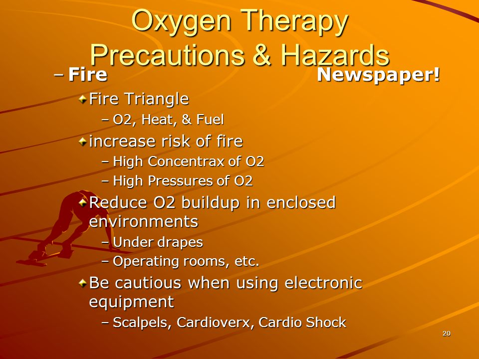 Oxygen Therapy Precautions & Hazards –FireNewspaper.