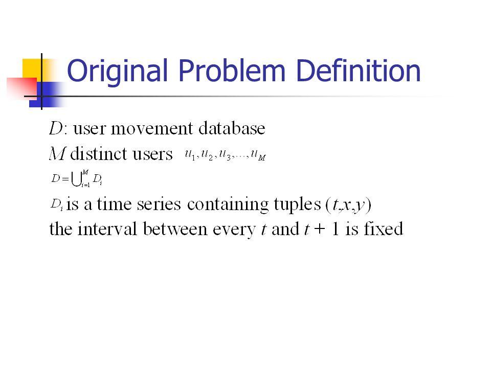 Original Problem Definition