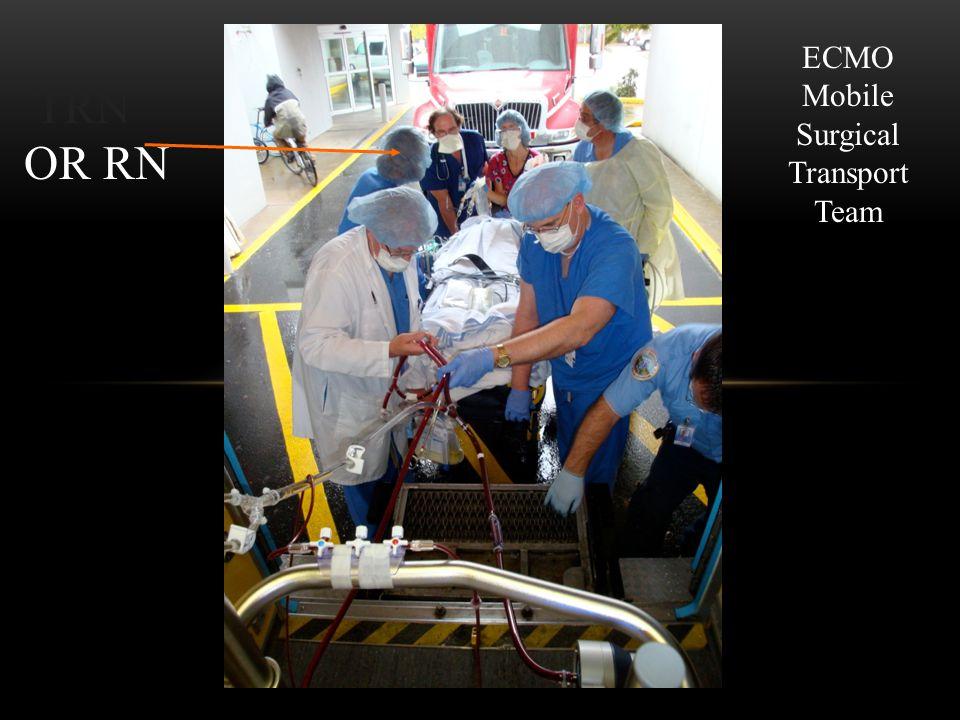 OR RN ECMO Mobile Surgical Transport Team TRN
