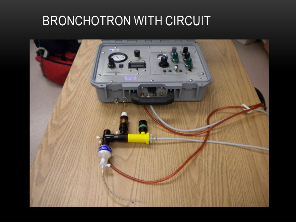 DISPOSABLE BRONCHOTRON CIRCUIT