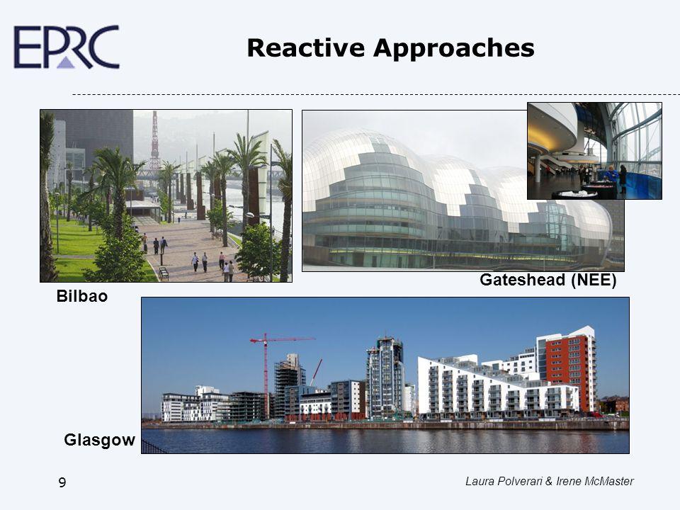 Laura Polverari & Irene McMaster 9 Reactive Approaches Bilbao Glasgow Gateshead (NEE)