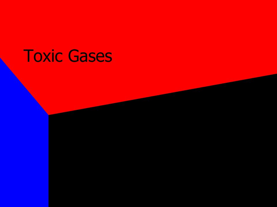 Carbon Monoxide The most common form of poisoning From 1979 to 1988, 56,000 people died from CO Colorless, odorless, nonirritating gas Produced by incomplete combustion of carbon containing compounds Combines with Hb to form carboxyhemoglobin CO-Hb will not transport O2 T 1/2 of CO-Hb is 5-6 hours in room air, 90 min in pure O2 at 1 atm, 23 min in O2 at 3 atm