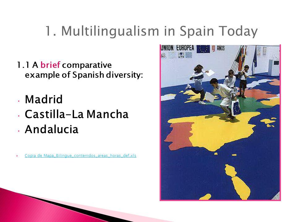 1.1 A brief comparative example of Spanish diversity: Madrid Castilla-La Mancha Andalucia  Copia de Mapa_Bilingue_contenidos_areas_horas_def.xls Copia de Mapa_Bilingue_contenidos_areas_horas_def.xls 1.