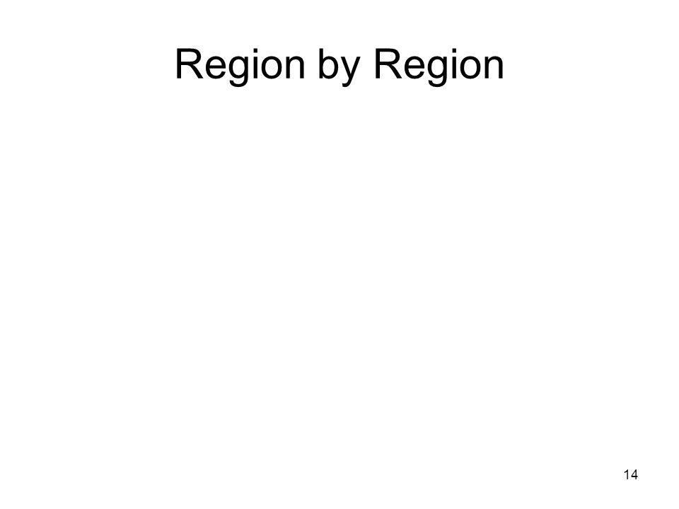 14 Region by Region